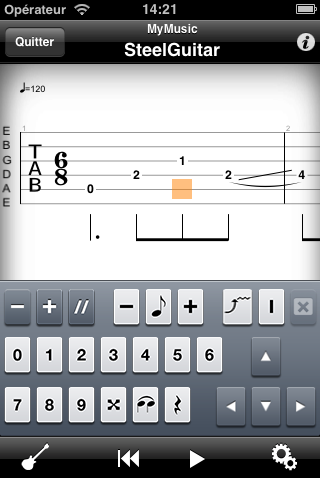 Guitar PRO iPhone/iPad